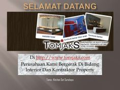 Kitchen set surabaya presentation by tomjaks by S Arifin via slideshare