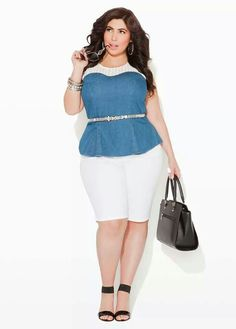 24851c55c9d Ashley Stewart Curvy Women Fashion
