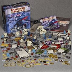 Dungeons and Dragons Castle Ravenloft Board Game Board Games For Kids, All Games, Games To Play, Playing Games, Cooperative Games, Monster Cards, Game Sales, Wizards Of The Coast, Up Game