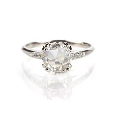 Leigh Jay Nacht Inc. - Replica 1930s Engagement Ring - 3104-14