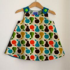 Autumn Pears infant or toddler dress  sizes newborn by aprilscott, $36.00