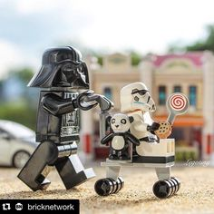 "#Repost @bricknetwork with @repostapp. ""Saturday's walk"" Photo and caption by @legotiny #legophotography # #starwars #weekend #brickfilm #stopmotion #legostagram #awesome #legominifigs #brickfans #creative #legos #lego #disney #art #bricknetwork #disneyland #laugh #creation #funny #photography #minifigure #minifigures #disneyworld #stormtrooper #darthvader #thelegomovie #legoland by marcos_vacam"