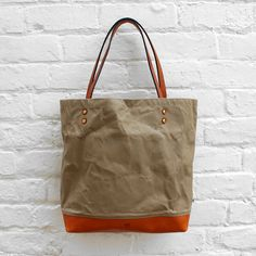 Southern Field Industries Waxed Tote Bag