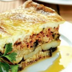 Greek moussaka. Find the recipe. http://www.icookgreek.com/en/recipes/dishes/item/greek-moussaka-mousakas?category_id=283