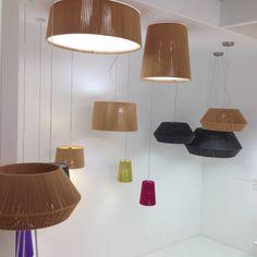 Showroom lamparas Drum de #Olelamparas.