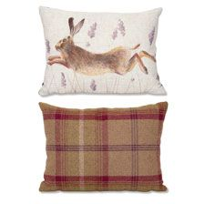 Hasen Kissen Balmoral Decken Plaids British Lifestyle The