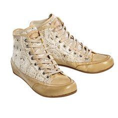 Candice Cooper Crochet Sneaker