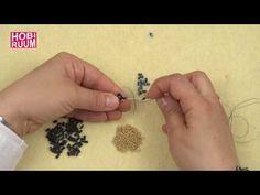 YouTube Peyote Beading, Beadwork, Bugle Beads, Beads And Wire, Craft Videos, Jewelry Making, Tattoos, Bracelets, Youtube
