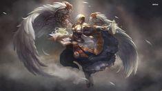 Blood elf priest - World of Warcraft wallpaper