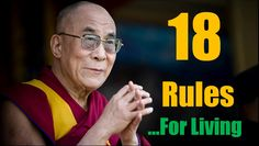 Dalai Lama Quotes | 18 Rules For Living By Dalai Lama