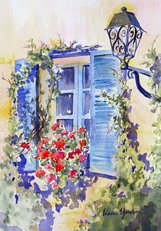 Watercolors by Liana Yarckin: March 2010