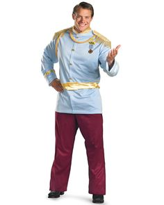 62c71017e17e7 Plus Size Mens Deluxe Disney Prince Charming Costume. Have a ball this  Halloween with the men s ...
