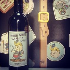 Spanish White Guerrilla Verdejo 2012 is out!!