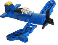 F4U corsair (tbone_tbl) Tags: plane airplane lego navy mini micro corsair carrier warbird f4u