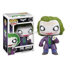 FUNKO POP 36# The Dark Knight Batman The JOKER pvc 10cm Action Figure, View Batman, donnatoyfirm Product Details from Guangzhou Donna Fashion Accessory Co., Ltd. on Alibaba.com