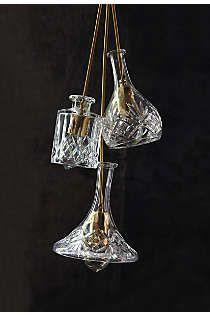 Anthropologie - Bell Hand-Cut Decanter Pendant Lamp