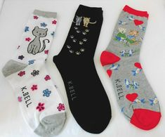 Womens Mens Socks Mid Stockings Color Painted Painting Print Cotton Blend