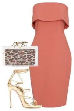 Untitled #4456 by stylistbyair on Polyvore featuring polyvore fashion style Elizabeth and James Charlotte Olympia clothing