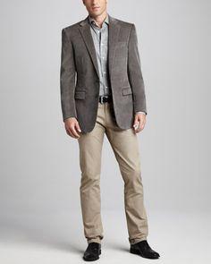 Jeansian Mens Slim Jacket Blazer Coat Shirt Top Outerwear 3 Colors ...