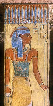 Le dieu Geb. Tombeau de Taousert et Sethnakht. KV14. Vallée des rois.
