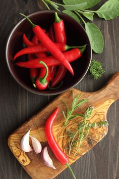13 Herbs and Spices for Health - Food and Recipes - Mother Earth Living #herbs & spices for health