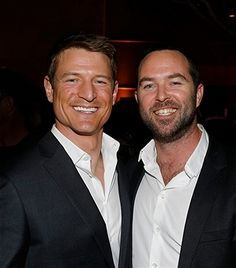 New York Midseason Press Day, March 2017 -- Pictured: (l-r) Philip Winchester 'Chicago Justice' on NBC, Sullivan Stapleton 'Blindspot' on NBC -- Sullivan Stapleton, Strike Back Tv Series, Stevie Nicks Young, Philip Winchester, Chicago Justice, British Men, Hollywood Star, Event Photos, Hot Guys