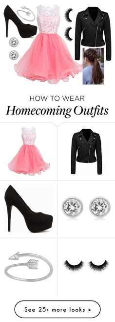 """"""""""" by hcs72902 on Polyvore featuring Nly Shoes, Forever New and Michael Kors"""