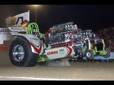 Heavy Diesel/Alcohol/Methanol Engine TractorPulling Compilation 2017