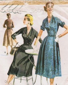 1950s McCall's 3504 Vintage Sewing Pattern by midvalecottage, $12.00
