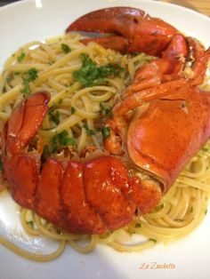Linguine with Lobster   Linguine all'Astice   La Zucchetta