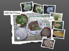 For Dinner on 17/Jun/2012