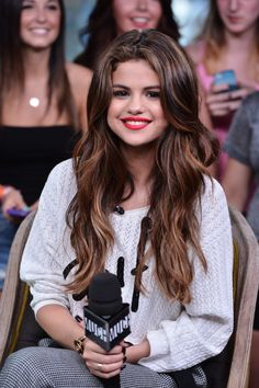 Selena Hair highlights
