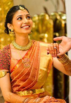 bridal saree telugu - Google Search