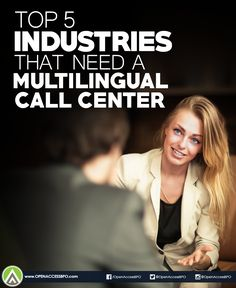 These 5 industries would benefit the most from partnering with a #MultilingualCallCenter.