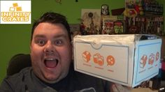 Infinity Crate September 2016 Subscription Box Unboxing Mystery Crate Re...