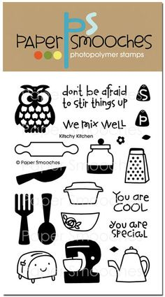 Paper Smooches: Kitchsy Kitchen