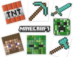 Minecraft Gamer Embroidery Designs Set (4x4 Hoops)
