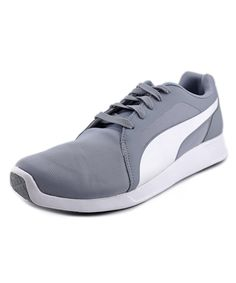 1f8bd7633 PUMA Puma St Trainer Evo Men Round Toe Synthetic Gray Sneakers'. #puma # shoes #sneakers