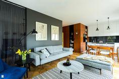 Wypełniony światłem - zdjęcie od URBAA - Urbański Architektura & Wnętrza - Salon - Styl Eklektyczny - URBAA - Urbański Architektura & Wnętrza
