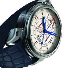 Cuervo y Sobrinos Historiador Vuelo still makes quite a strong impression with its deliberately oversized stainless steel body and a dial that could make your eyes bleed if only it wasn't matched so convincingly well to the energetic shape of the case