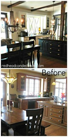 Kitchen Makeover by redheadcandecorate.com