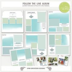Follow the Line Album by Lynn Grieveson.  Available at The Lily Pad.
