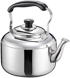 Stovetop Kettles,4L Domestic Gas Teapot Picnic Bag Hob Kettle Size : 3L Thickened Whistling Kettle Kettle 304 Stainless Steel Large Capacity Stove