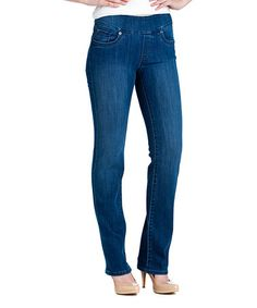Look what I found on #zulily! Medium Blue Bootcut Jeans - Women & Plus by BLUBERRY DENIM #zulilyfinds