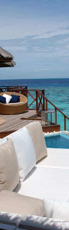 Somewhere in the Maldives