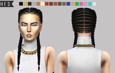 bebebrillit:  hautfashionsims4:  Ep 10 Braided Braids Hair Conversion TS3 to TS418 colorsCustom thumbnailNo hat compatiblePlease read terms of use in conversions pageIf you use tag me #hautfahionsimsDownload here |x|–LINK UPDATED–  can someone convert this hair for kids?