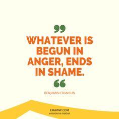 Anger And Shame