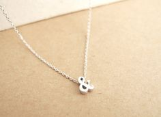 LITTLE THINGS BY TCY | 3D Ampersand Necklace