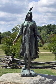 Colonization and Native Americans (Pocahontas Statue) | by Tony Fischer Photography