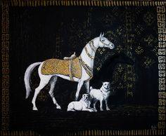 "Ознакомьтесь с моим проектом @Behance: «""Turkmen horse and dogs""» https://www.behance.net/gallery/51114283/Turkmen-horse-and-dogs"
